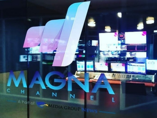 Media Group <i>Launching</i> Televisi Digital Terestrial Magna Channel