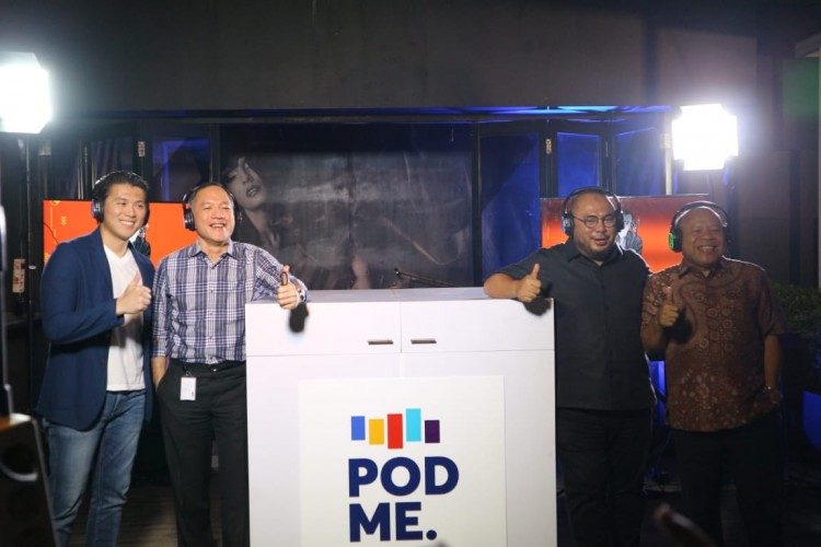 Media Group News Luncurkan Platform Baru PodMe
