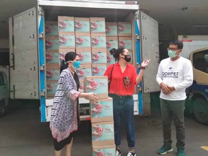 Media Group Salurkan Bantuan dari PT Bank UOB ke Rumah Harapan
