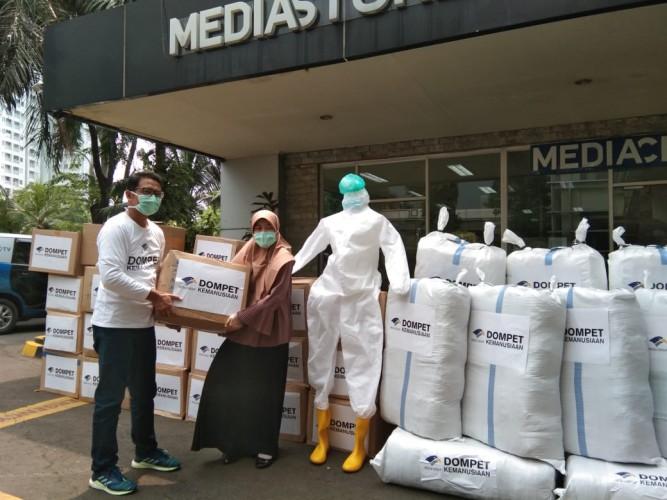 Media Group Salurkan Puluhan Ribu APD via Co-Hope