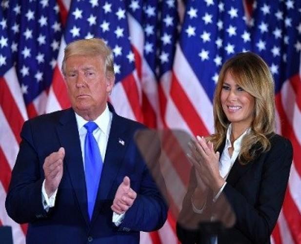 Melania Dikabarkan Ikut Bujuk Trump Terima Kemenangan Biden