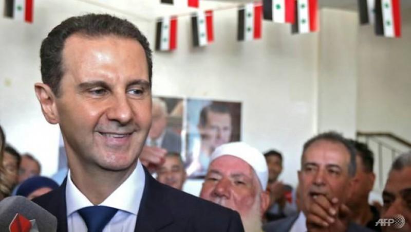 Menang Telak, Bashar Al-Assad Kembali Pimpin Suriah