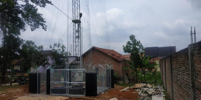 Menara BTS di Way Kandis Terancam Disegel