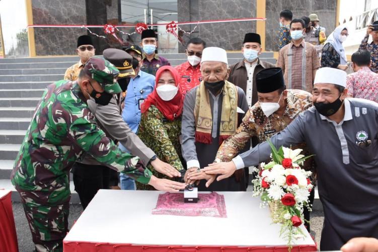 Menara Masjid Tertinggi di Indonesia Diresmikan, Bandar Lampung Miliki Wisata Religi