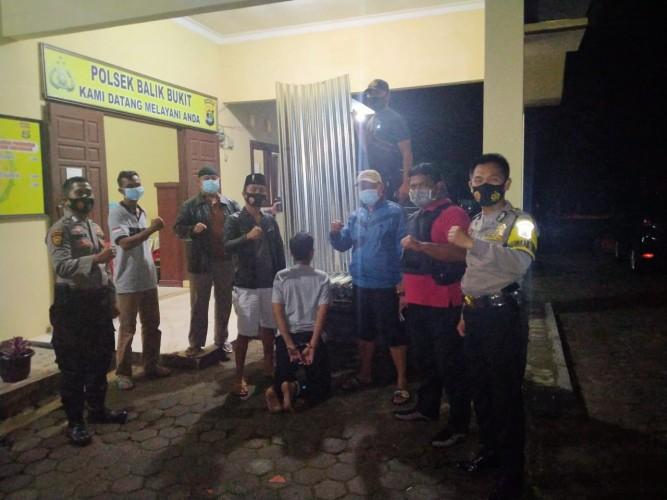 Mencuri 23 Kodi Atap Seng di Pekon Sebarus, Warga Sukau Dibekuk Polisi