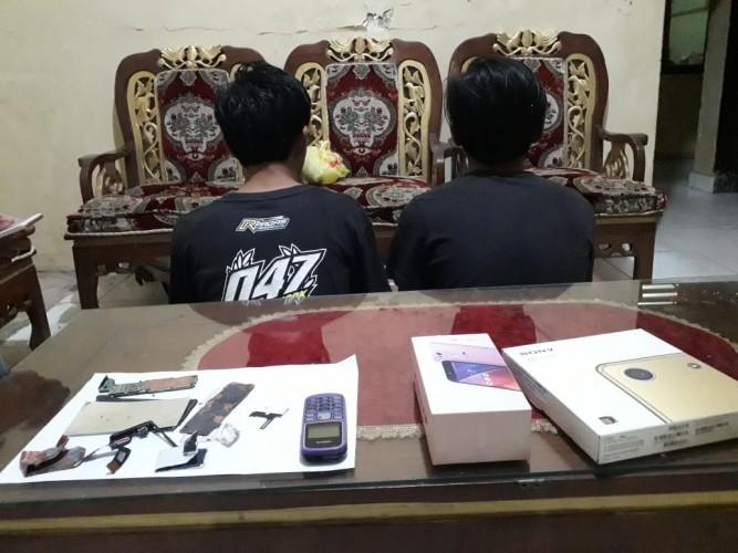 Mencuri dan Nyabu, Dua Remaja Asal Talangpadang Diringkus Polisi