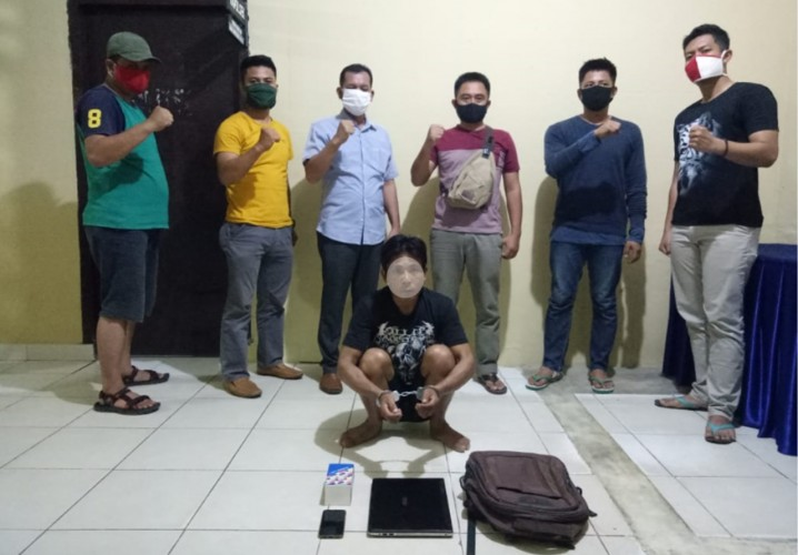Mencuri di Pringsewu, Warga Pulau Panggung Dibekuk Polisi