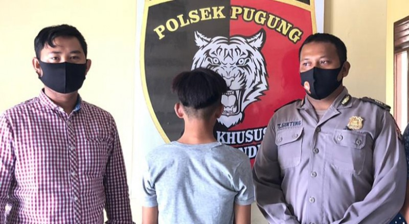 Mencuri Motor Bibi, Remaja di Pugung Dipolisikan oleh Pihak Keluarga
