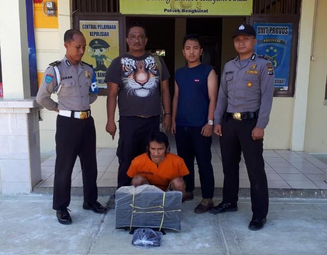Mencuri, Warga Kotabatu Diamankan Mapolsek Bengkunat