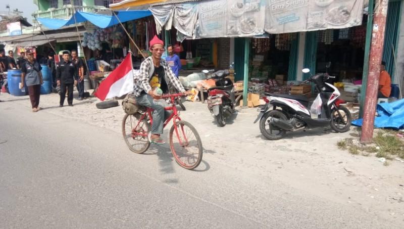 Mendayuh Sepeda Tasikmalaya - Lampung Untuk Jenguk Saudara Sakit