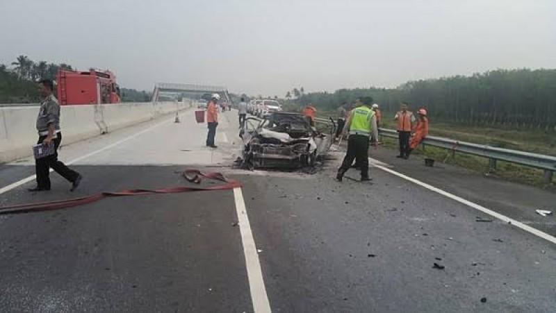 Mengantuk Penyebab Tertinggi Kecelakaan Tol