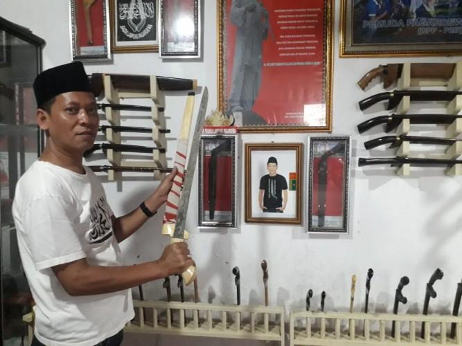 Mengenal Badik Pusaka Khas Lampung Peninggalan Kerajaan Pagardewa