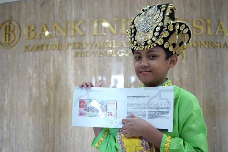 Mengenal Sosok Anak Gorontalo Dalam Uang Rp75 Ribu