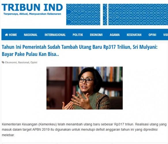 Menkeu Sri Mulyani Berencana Jual Pulau untuk Bayar Utang Negara?
