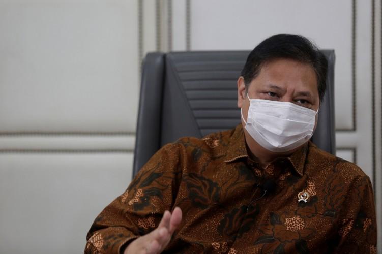 Menko Airlangga Ajak Akademi Awasi Pelaksanaan UU Cipta Kerja