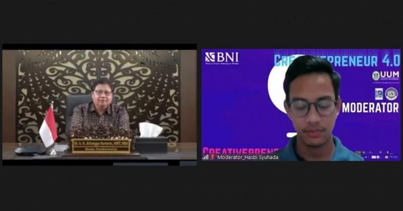 Menko Airlangga: <i>Double Disruption</i> Terjadi Selama Pandemi Covid-19