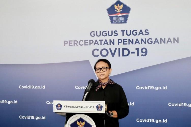 Menlu: WNI Terjangkit Covid-19 di Luar Negeri 734 Orang