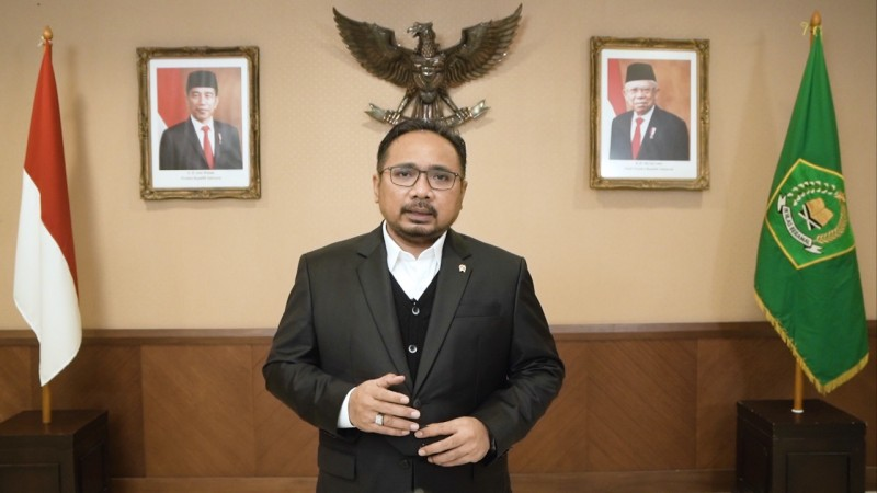 Menteri Agama Ajak Umat Buddha Pererat Tali Persaudaraan