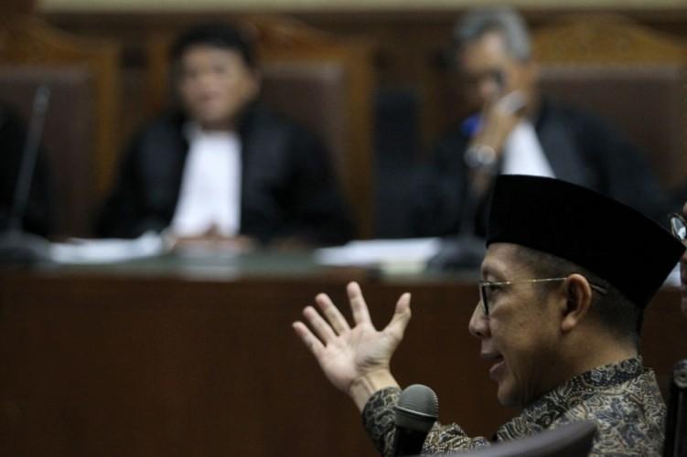 Menteri Agama Dituding Terima Suap