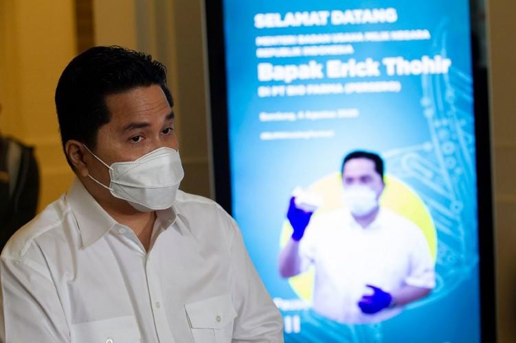 Menteri BUMN Bina 204.609 Pelaku UMKM