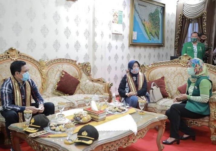 Menteri Desa, PDT, dan Transmigrasi Meninjau Kemajuan DD di Lampung