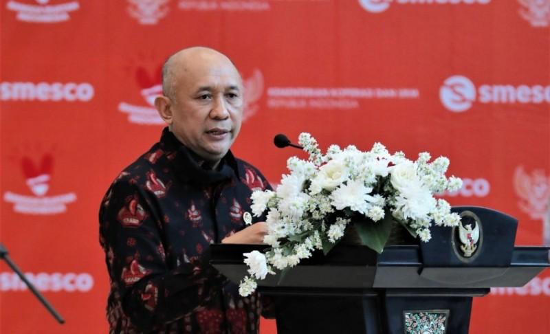 Menteri Koperasi dan UKM Teten Masduki Kunjungi Lampung 8 September