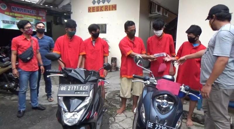 Meresahkan Warga, Komplotan Pemuda di Telukbetung Selatan Diciduk