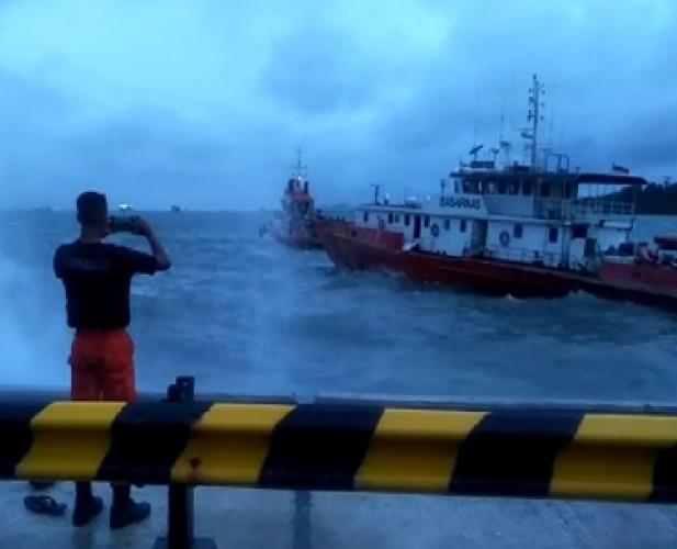 Meski Cuaca Buruk, Arus Penyeberangan Bakauheni-Merak Aman