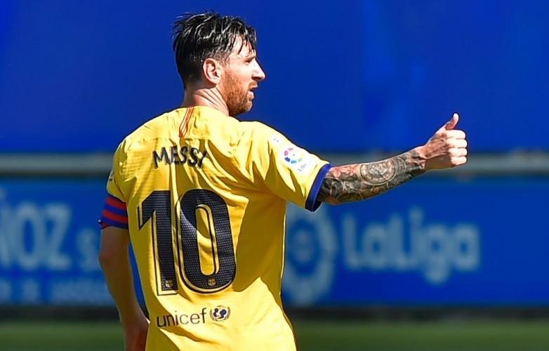 Messi Pecahkan Rekor Top Skor Liga Spanyol