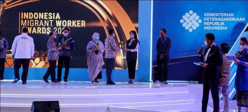Metro TV Diganjar Penghargaan Media Pelindung Pekerja Migran