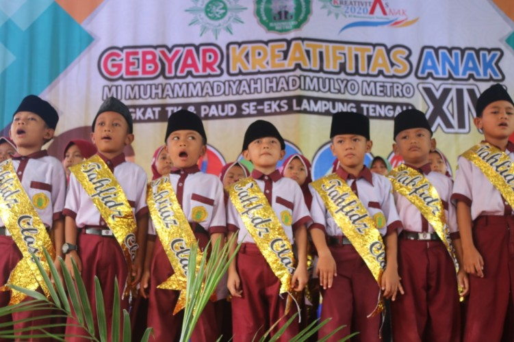 MI Muhammadiyah Hadimulyo Metro Gelar Gebyar Kreativitas Anak