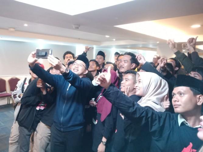 Milenial Muslim Bersatu Deklarasikan Dukungan Jokowi-Ma'aruf Amin