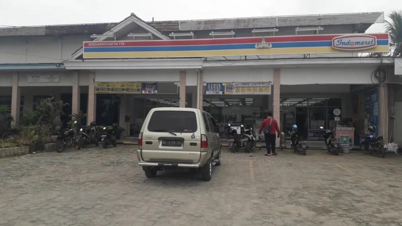 Minimarket di Jalan Soekarno Hatta Labuhan Ratu Disatroni Perampok