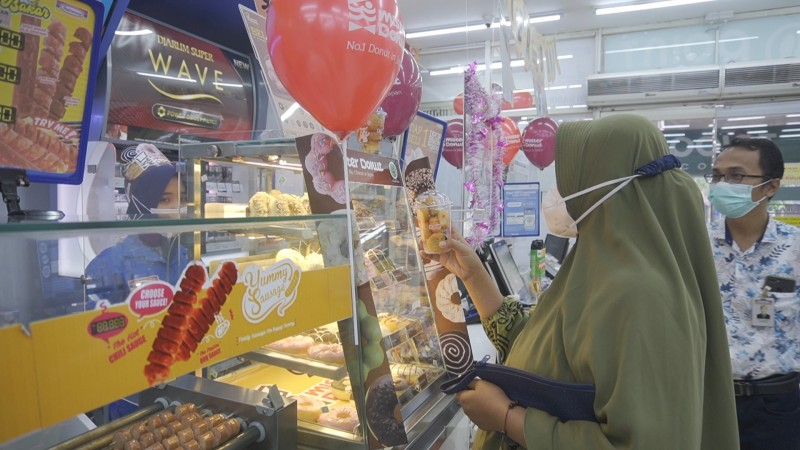 Mister Donut Sudah Tersedia di Indomaret Lampung