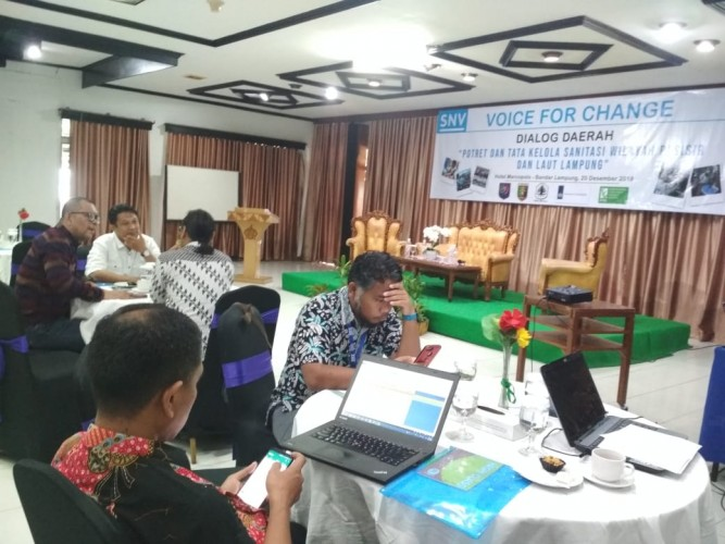 Mitra Bentala Gelar Dialog Daerah Santasi Pesisir dan Laut Lampung