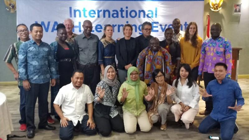 Mitra Bentala Serta 3 Negara Ikut Learning Event Sanitasi di Padang
