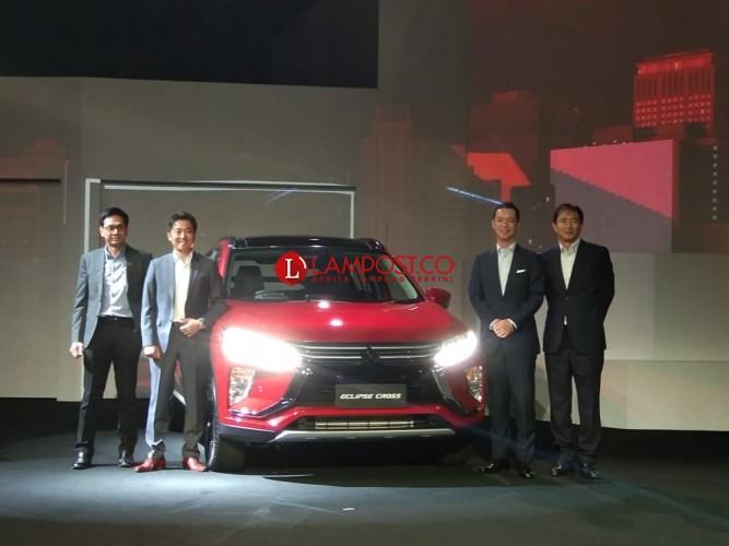 Mitsubishi Eclipse Cross Dikenalkan di Indonesia
