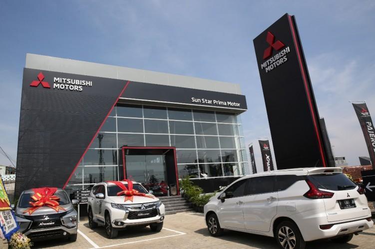 Mitsubishi Resmikan Diler Baru di Tajur