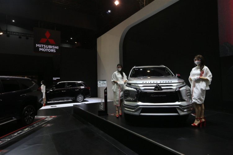 Mitsubishi Targetkan Jual 600 Unit di IIMS Hybrid 2021