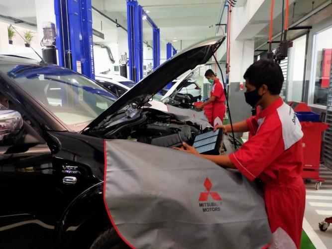 Mitsubishi Tetap Siagakan Bengkel Jaga saat Lebaran