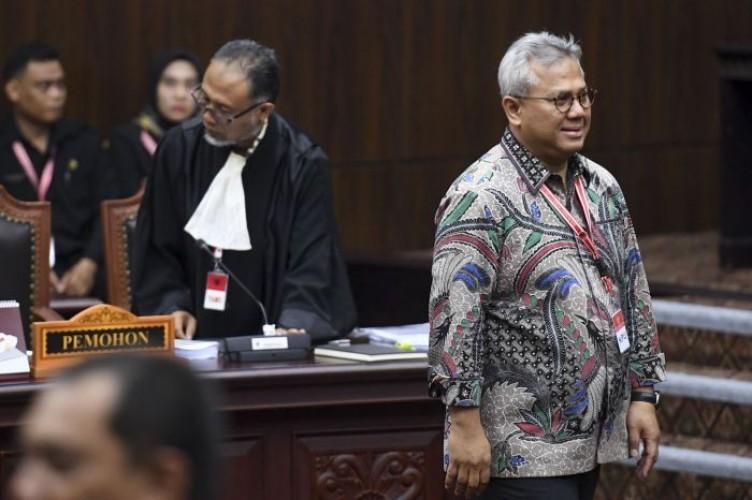 MK Kabulkan Keberatan KPU, Hari Sidang Digeser Selasa