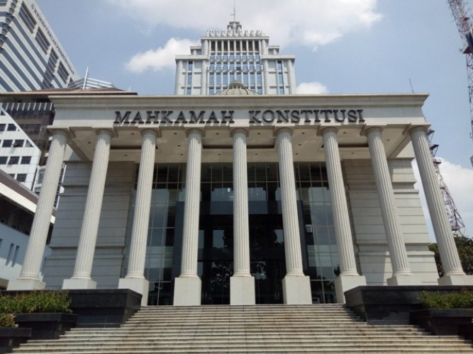 MK Putuskan Sengketa Pilkada Pesibar 18 Maret