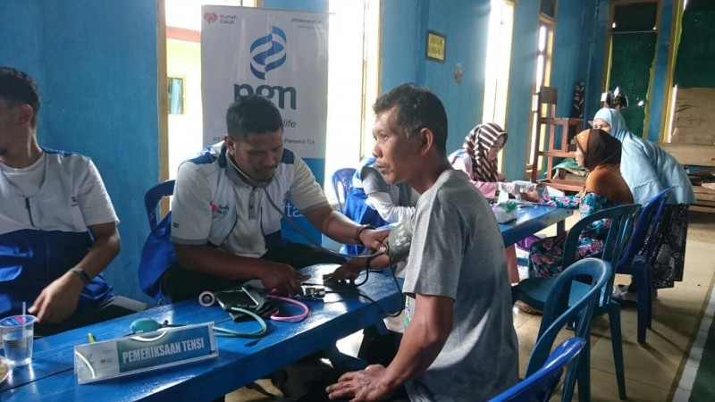 Mobil Sehat PGN Lampung Sambangi Desa Braja Asri