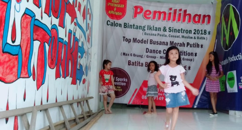 Model Cilik Lamteng Kembali Berlaga di Ajang Super Model