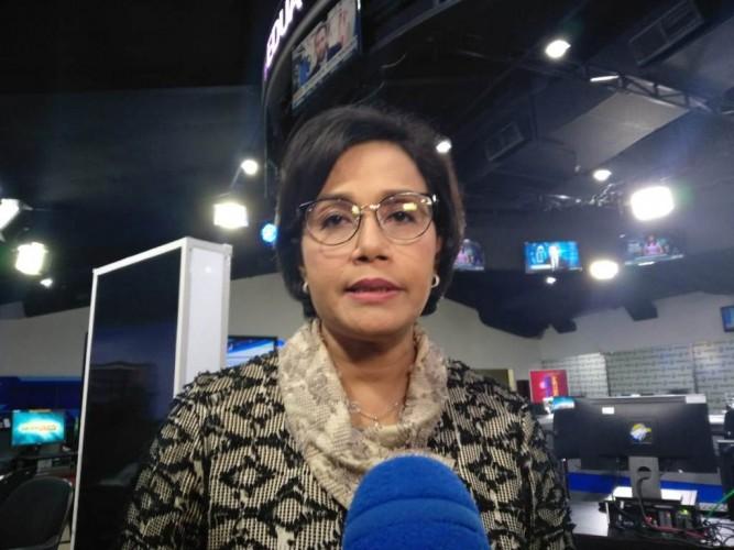 Momen Menteri Keuangan Sri Mulyani Menangis