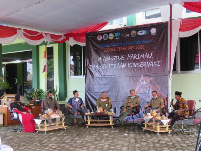 Moment Kemerdekaan RI: TNBBS Ajak Semua Pihak Intens Membahas Aksi Pelestarian Harimau Sumatera