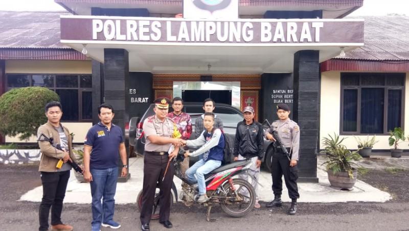 Motor Kembali, Taufik Hidayat UcapkanTerima Kasih ke Polisi