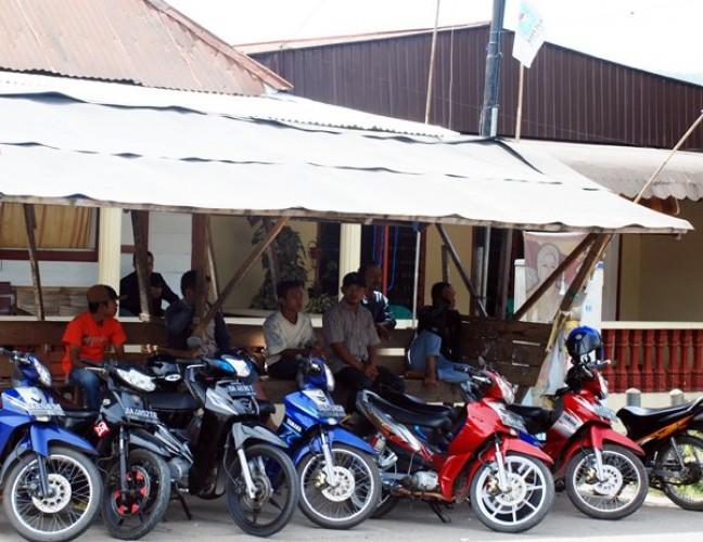 Motor Tukang Ojek di Abung Selatan Dibawa Kabur Penumpang