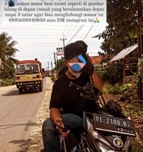 Motor Warga Hajimena Raib saat Diparkir di Depan Rumah