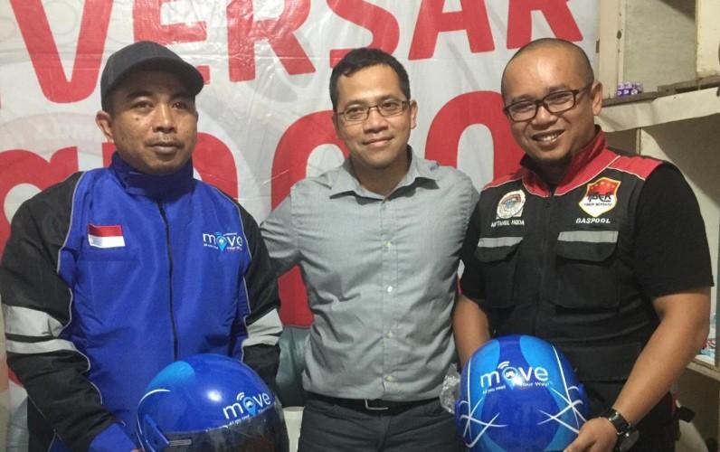 Move Siap Ramaikan Angkutan Daring di Lampung